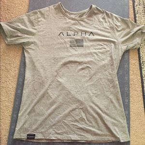Alpha Clothing Co alpha flag Tee great condition.